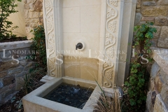 Hand-Carved-Limestone-Fountain