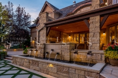Honey-Buff-Limestone-Veneer-Fountain