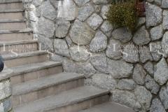 Italian Gray Porphyry Stairs