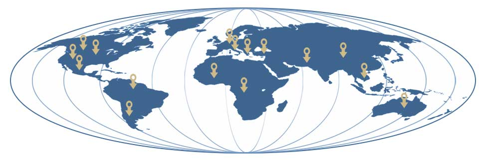 LSI sources stone throughout the globe