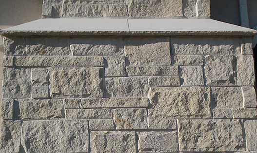 Cotton Limestone Sawn Coursing Thin Veneer
