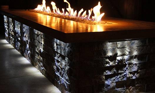 Custom Stone Fire Pit